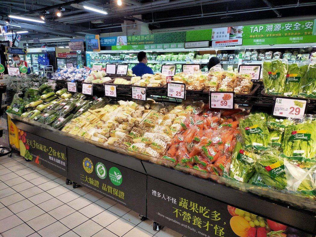 賣場中處處可見讓人食在安心的嚴選良品,種類多、商品齊。 家樂福/提供