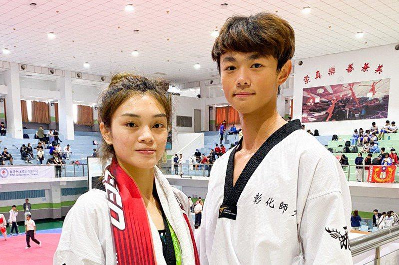 黃鈺仁(右)和蘇柏亞(左)。 圖/聯合報系資料照片
