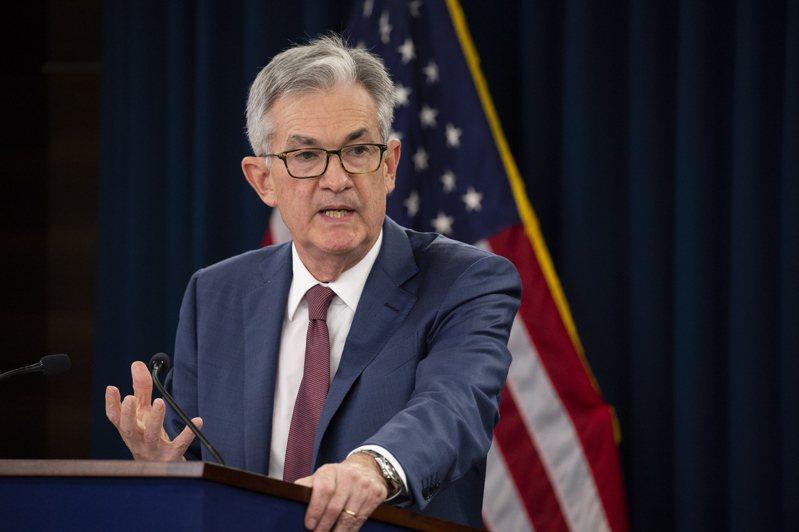 Fed主席鮑爾表示,決策官員已開始談論「討論縮減購債」這件事。圖/歐新社