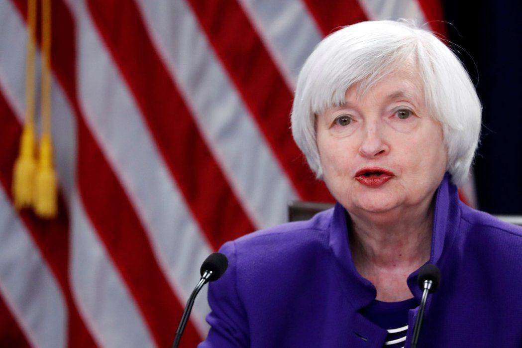 美國財政部長葉倫(如圖)16日表示,美國不會同意給予中國大陸或其他國家任何形式的...