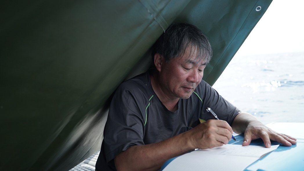 海洋文學作家廖鴻基。圖/牽猴子提供