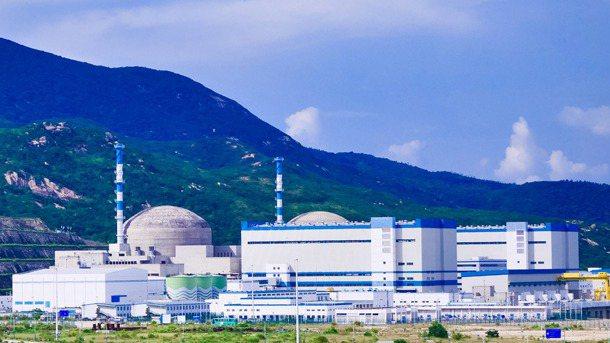 台山核電廠。(台山核電廠官網)
