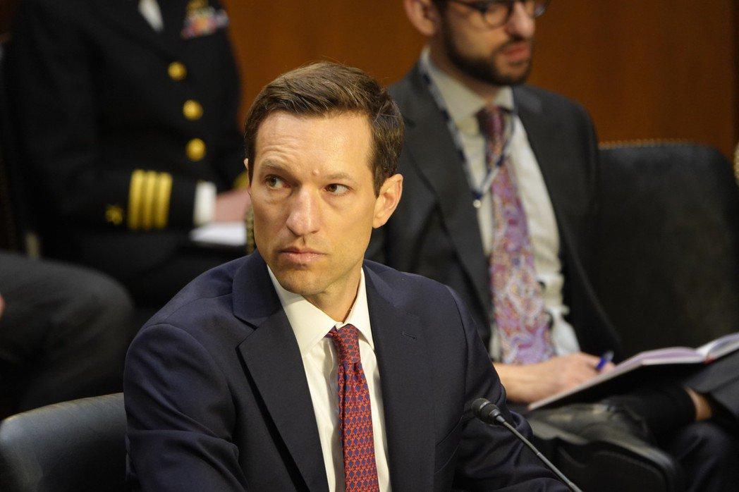 美國國防部印太事務助理部長被提名人瑞特納(Ely Ratner)16日出席聯邦參...