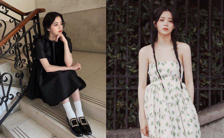 歐陽娜娜是中國品牌代言寵兒。圖/摘自微博