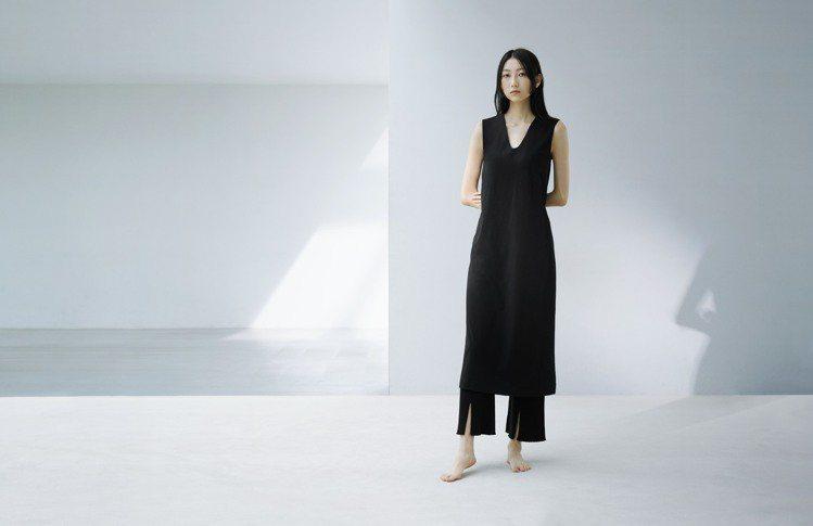 UNIQLO and Mame Kurogouchi系列的洋裝與褲裝,實際穿上後...