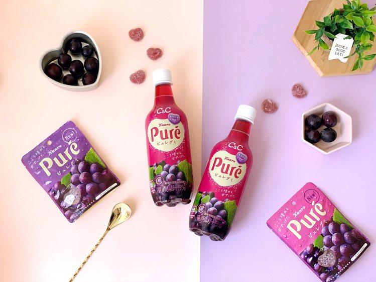 黑松CC與日本人氣軟糖品牌Puré聯名,打造台日最夢幻組合「黑松CC x Pur...