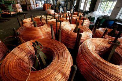 銅價與製造業景氣循環高度相關。(路透)