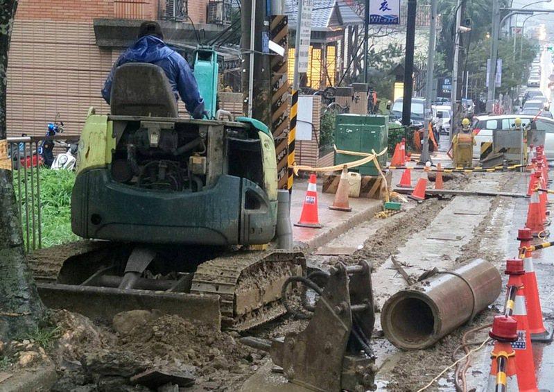 桃園市八德區長興路水閥故障維修施工,25日上午8時起到下午5時共9小時,八德區、桃園區37里停水或水壓降低。示意圖/本報資料照