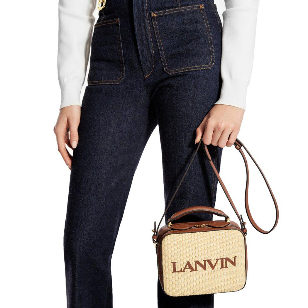 LANVIN BENTO BAG售價55,100元。圖/微風提供