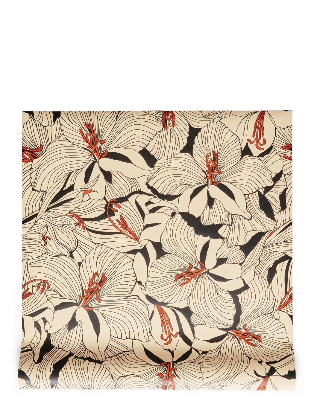 花卉紋樣壁紙,16,500元。圖/GUCCI提供