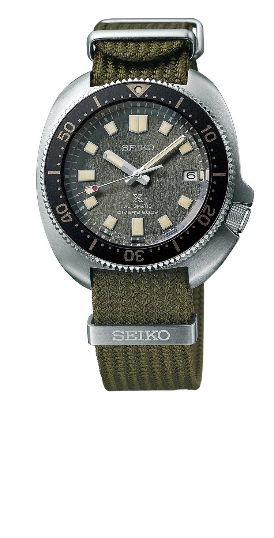 Seiko Prospex 1970現代演繹版腕表,精鋼表殼38,000元。圖/...