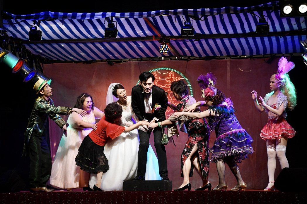 音樂劇「結婚!結昏?辦桌」因疫情爆發取消。圖/綠光劇團提供