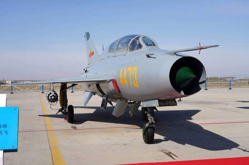 今日侵擾西南空域的共機首度出現殲7。圖為殲7。圖/國防部提供