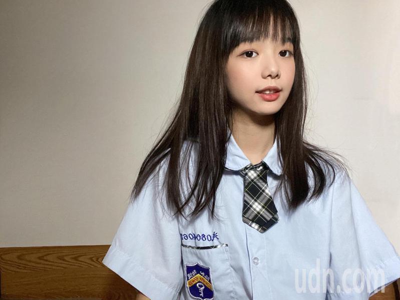 北市協和祐德高中汽車科王貴櫻是班上唯一女生。圖/協和祐德高中提供