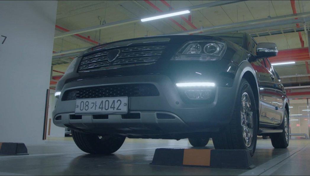 《機智醫生生活》第一季頌和當時的坐駕為第一代Kia Mohave。 圖/截自tv...