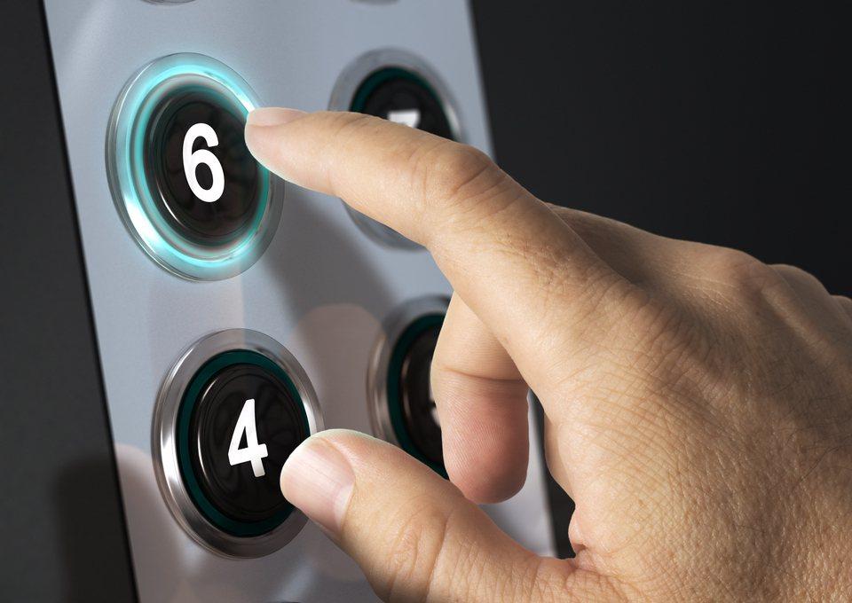 電梯是現代大樓不可或缺的基本設備。 圖/ingimage
