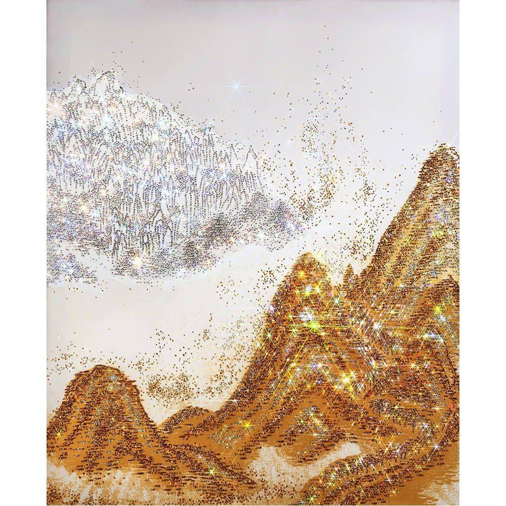 金宗淑,Mountain Gold,施華洛世奇切割水晶。