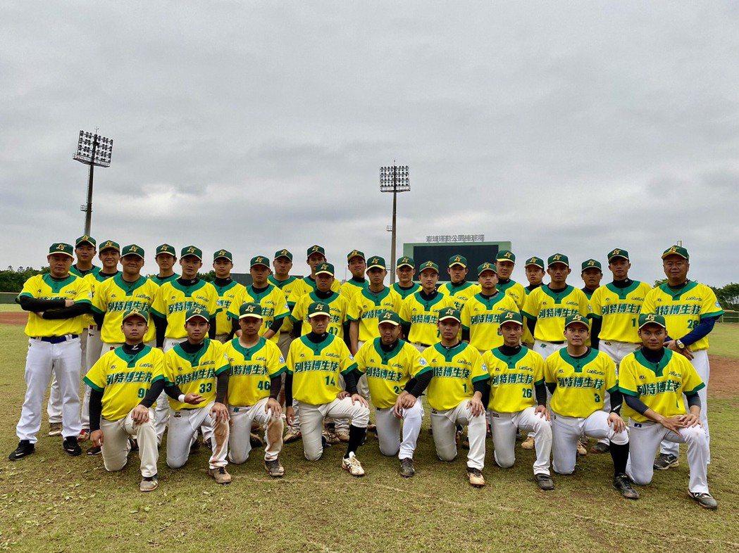 萬能科大(列特博生技)棒球隊被稱為國家防疫隊。 萬能科大/提供。