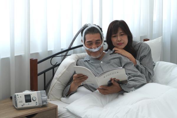 睡眠呼吸器,挑選更要注重品質與安心保障。 科林睡得美/提供。