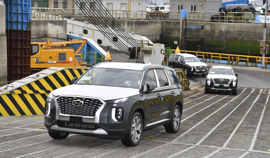 Hyundai上月與剛果政府簽約,將供應旗下500輛旗艦大休旅Palisades...