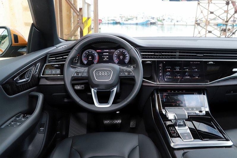 德國奧迪汽車2026年起將不再推出新款的燃油車。聯合報系資料照/記者張振群攝影