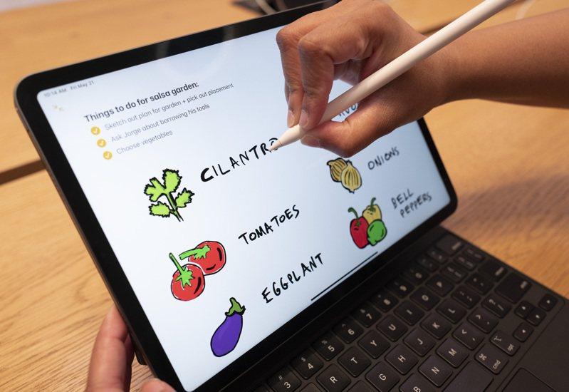 最新分析顯示,台廠在iPad Pro零組件比重激增,主要是Mini LED晶片以及背光產品扮演關鍵角色。美聯社