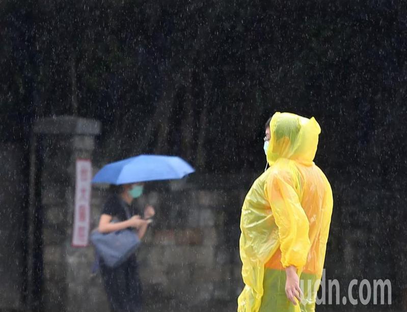 下周二開始鋒面盤據,全台灣都會有顯著降雨。本報資料照片