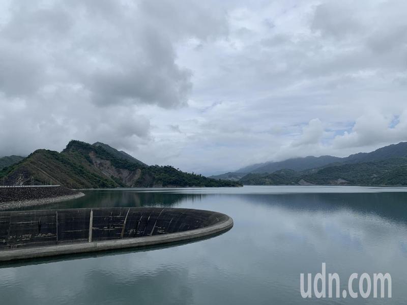 南化水庫蓄水今天已破8成5,下周有機會達到滿庫。記者吳淑玲/攝影