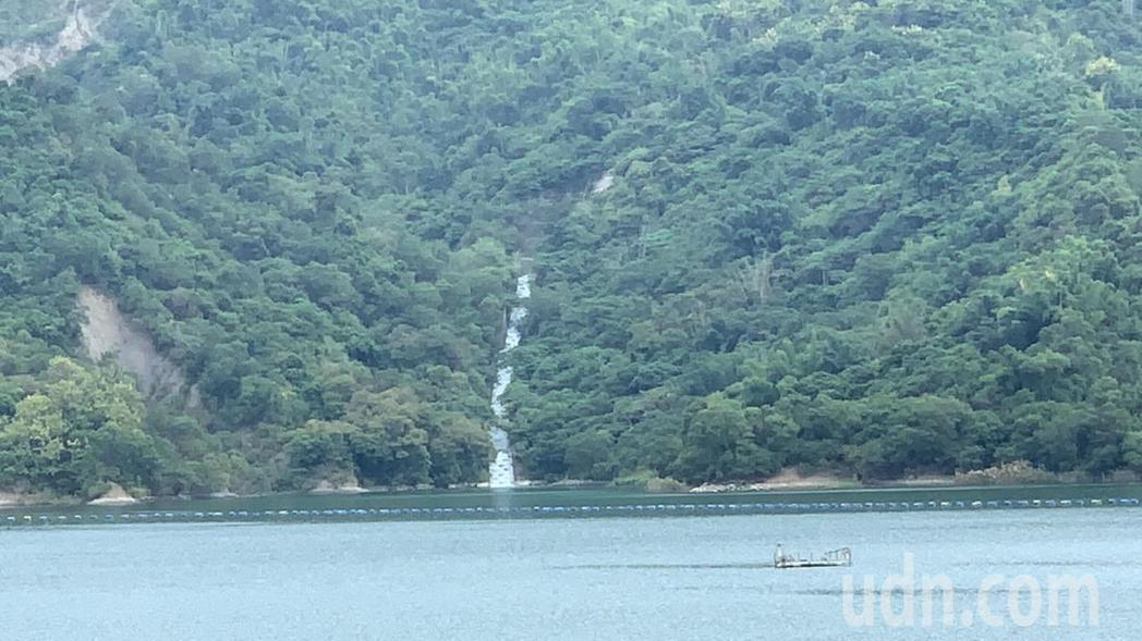 南化水庫蓄水今天已破8成5,其中越域引水佔近5成。記者吳淑玲/攝影