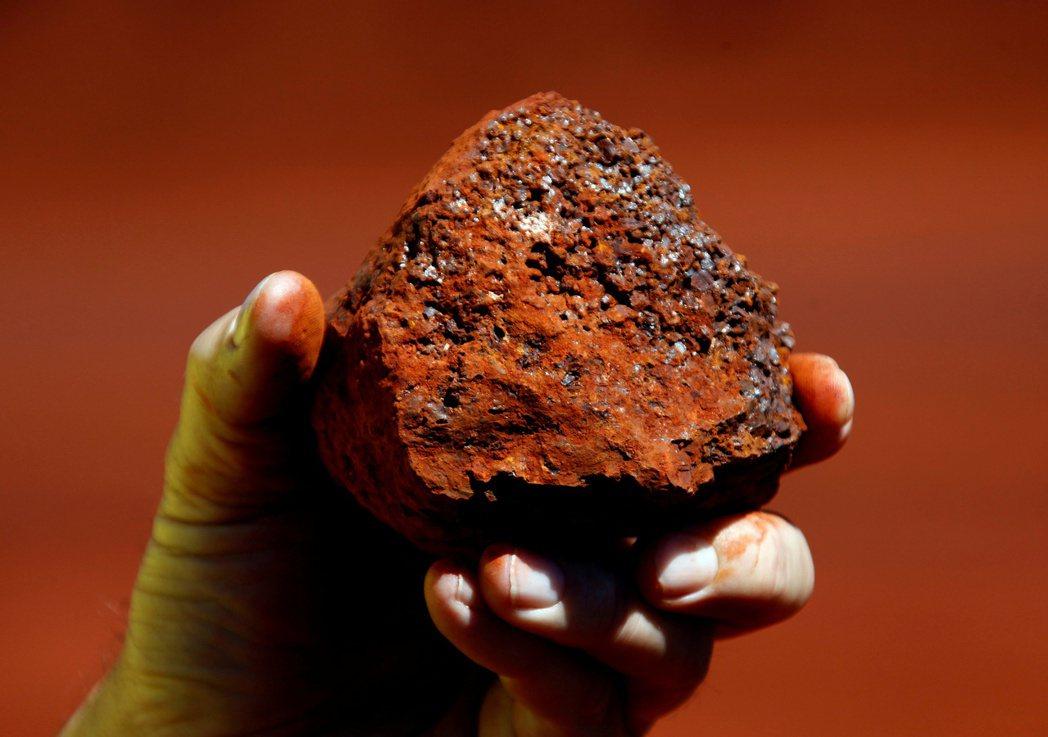 澳洲西部生產的鐵礦砂。   路透