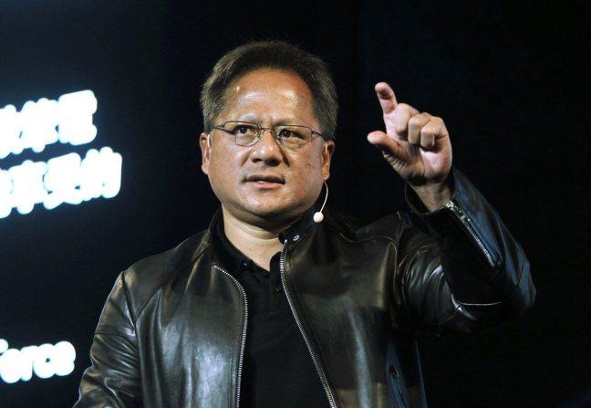 輝達(Nvidia)執行長黃仁勳。  美聯社