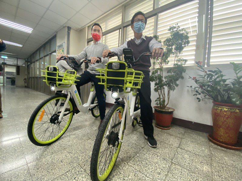 彰化縣委託微笑單車提供的YouBike1.0系統及車輛契約到期,將由MOOVO系統及車輛接手,預定9月上路,計投入全新300輛電動輔助自行車及1350輛自行車。本報資料照片/記者劉明岩攝影