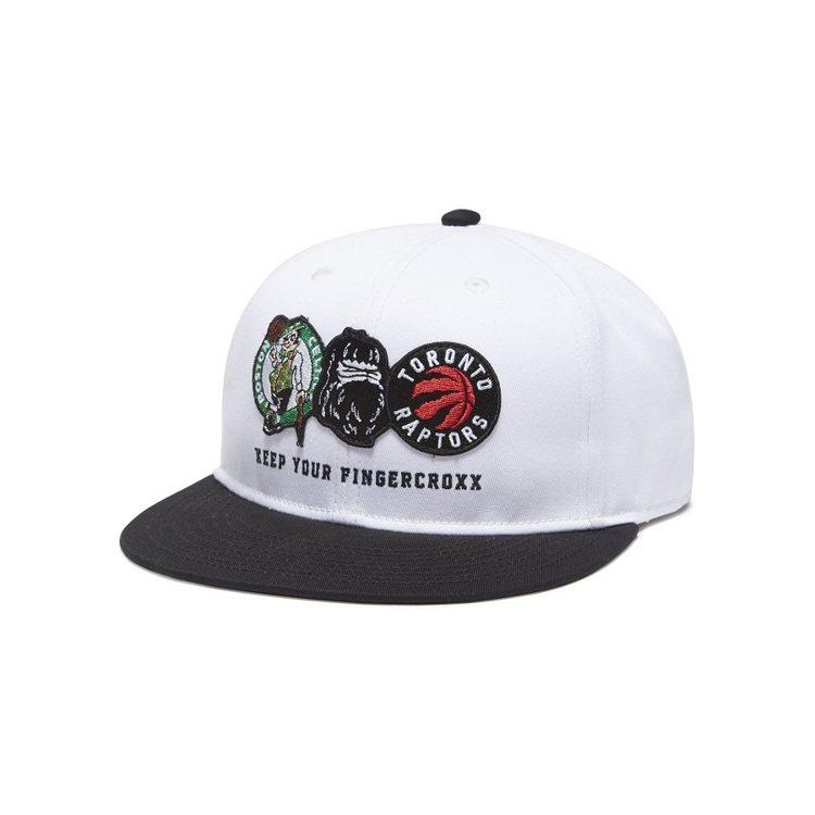 NBA Store與fingercroxx聯名系列賽爾提克VS多倫多暴龍帽款1,...