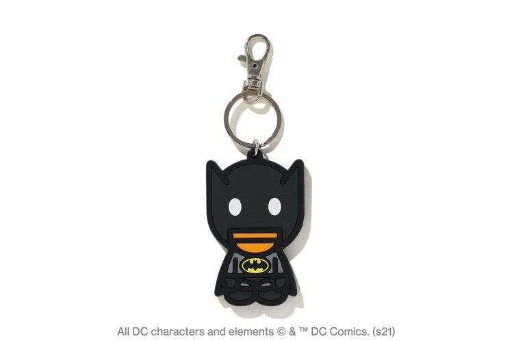 BAPE X DC BABY MILO BATMAN 鑰匙圈799元。圖/I.T...