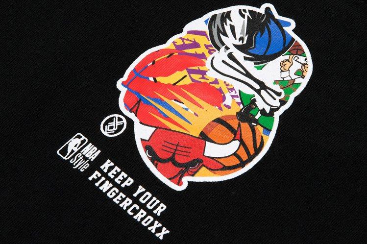 NBA Store攜手香港街牌fingercroxx ,翻玩球隊經典Logo,創...