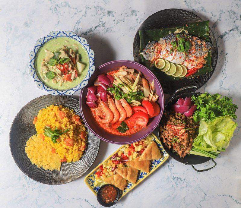 豐FOOD百匯的酸辣泰式料理。圖/典華提供