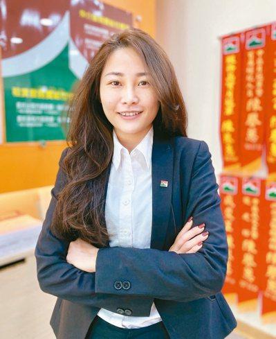 信義房屋逢甲上安店專案經理陳譽蕙。記者宋健生/攝影