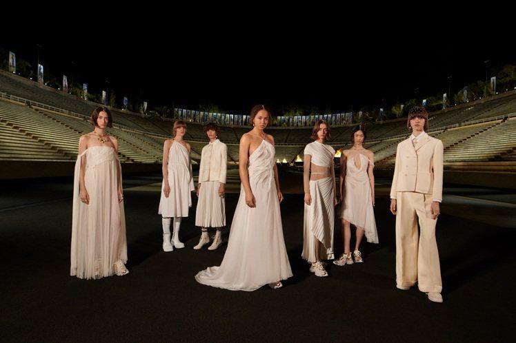 DIOR 2022早春度假時裝系列以藝術的重新創造作為靈感。圖/DIOR提供