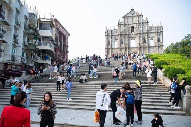 澳門今再對台灣入境旅客升級更嚴格防疫措施。圖/中通社