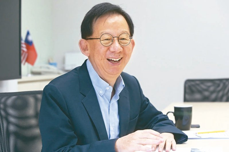 高端疫苗總經理陳燦堅。圖/聯合報系資料照片