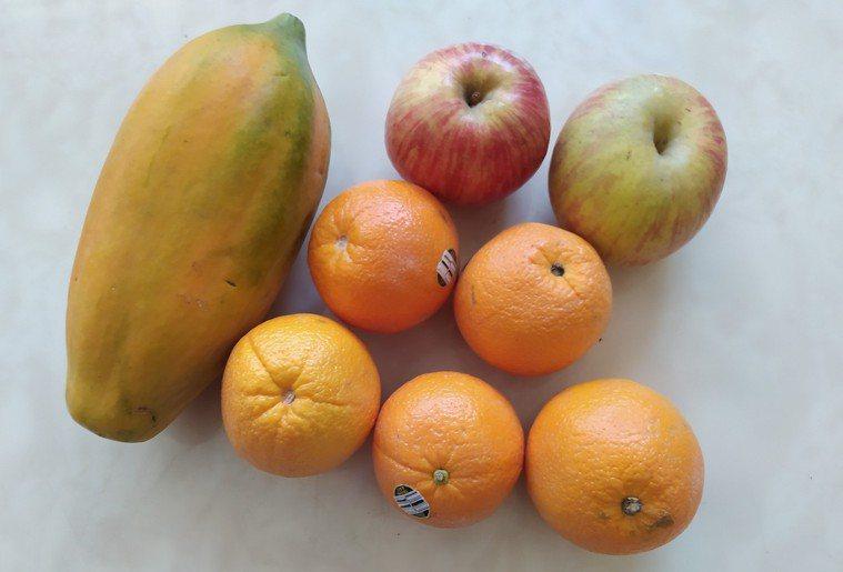 多數水果富含天然維他命C,每天攝取不一樣的水果,帶給人們最健康的免疫力。圖╱Pe...
