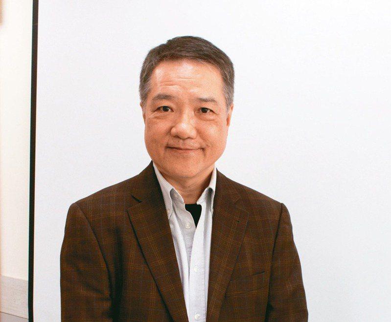 訊連董事長暨總經理黃肇雄。記者康陳剛/攝影