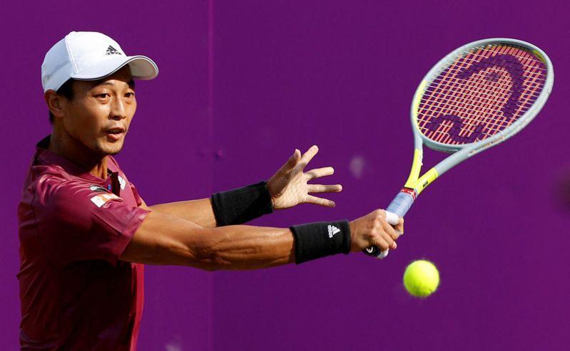 盧彥勳今天傳出確定獲得東奧網球男單門票的好消息。 法新社