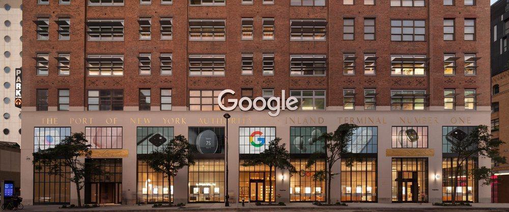 Google首間實體店在紐約雀兒喜。圖/Google提供