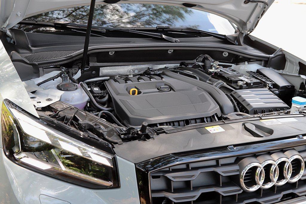 新世代1.5 TFSI汽油渦輪增壓引擎,導入Audi主動式汽缸管理系統,能在引擎...