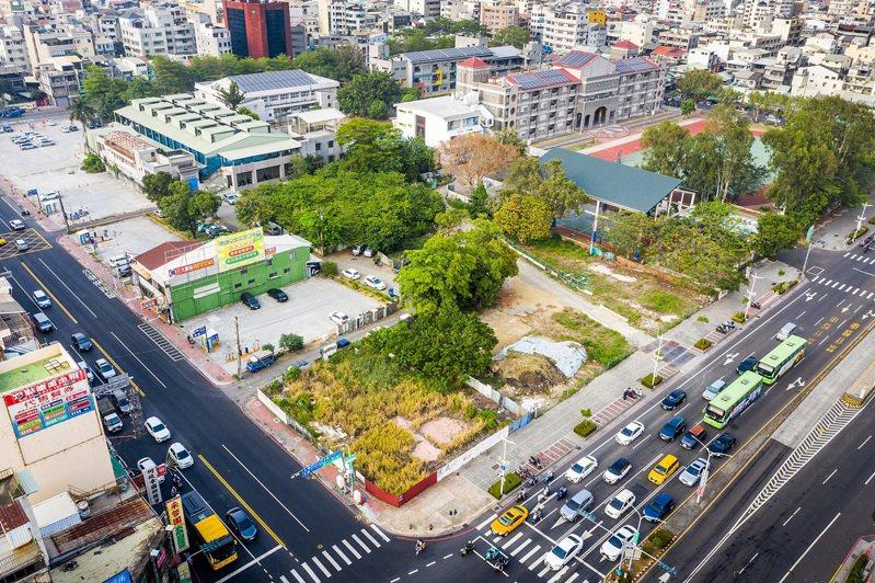 招商範圍空拍圖。圖/嘉義市政府提供