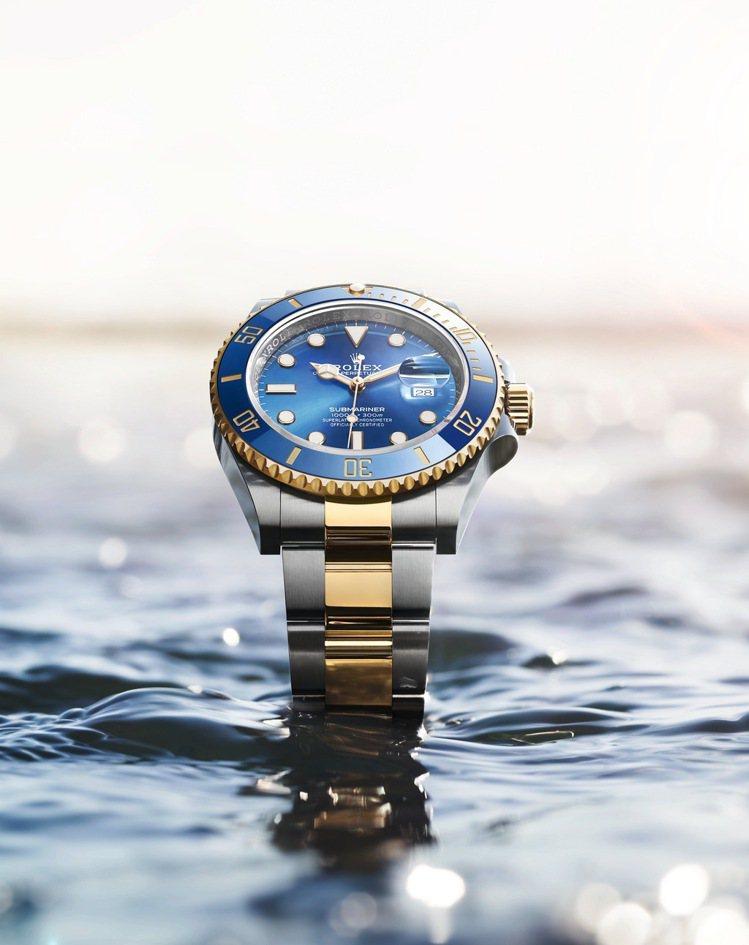 誰說水鬼只有黑綠雙星?混合藍色陶瓷圈、皇家藍色面盤、蠔式鋼的Submariner...
