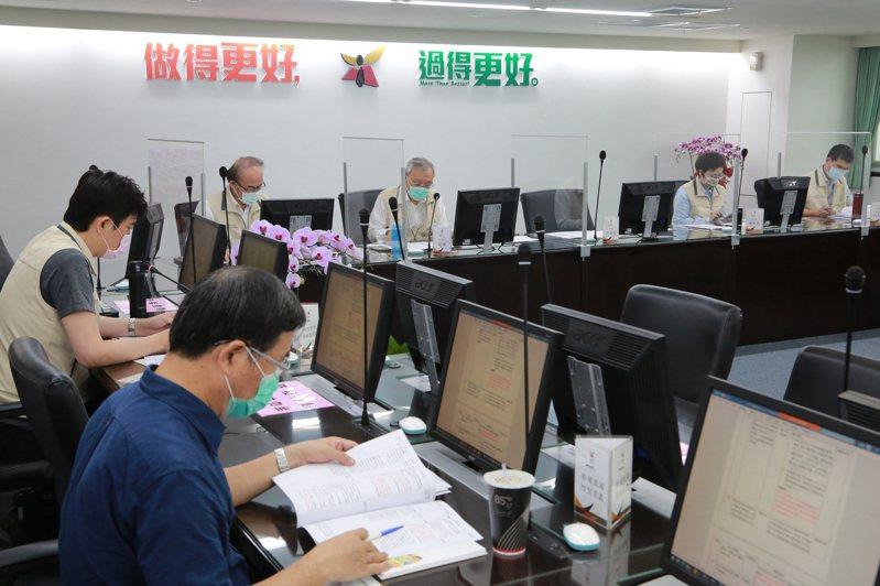 台南市政府今召開防疫檢討會議。圖/台南市政府提供
