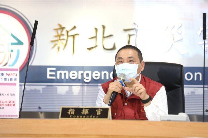 新北市長侯友宜也說,全國最辛苦的就在新北警察局、衛生局、衛生所。圖/新北新聞局提供