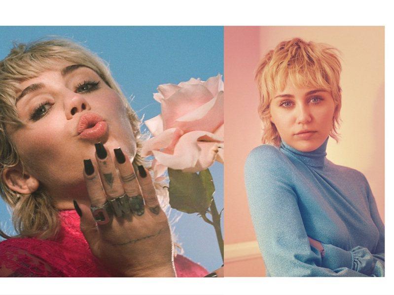 GUCCI宣布麥莉希拉將擔任GUCCI FLORA系列全新香水形象代言人。圖/GUCCI提供、取自IG